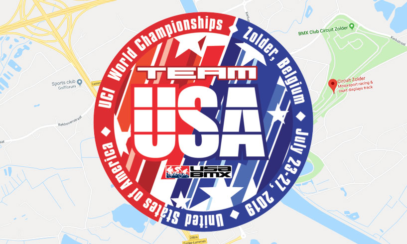 Team USA Challenge Class Riders to 2019 UCI BMX World Championships