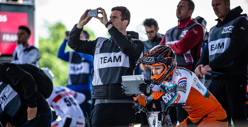 Team Netherlands at the  2019 Saint-Quentin en Yvelines BMX Supercross