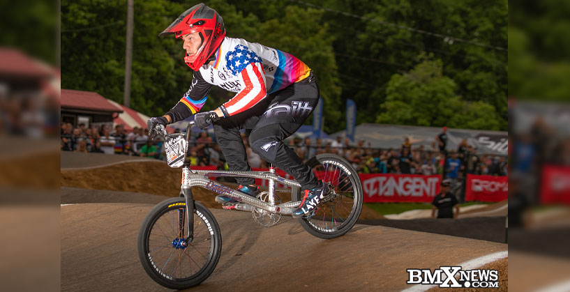 Corben Sharrah at the 2019 USA BMX Midwest Nationals