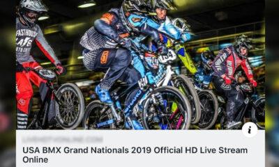 2019 USA BMX Grands Livestream Link