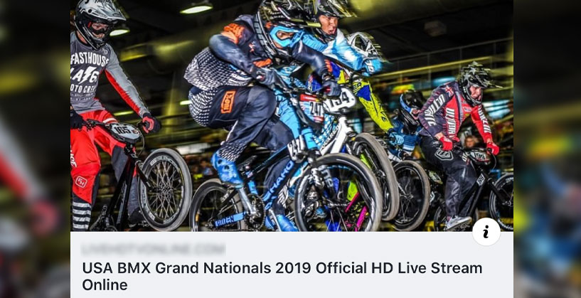 2019 USA BMX Grands Livestream Link