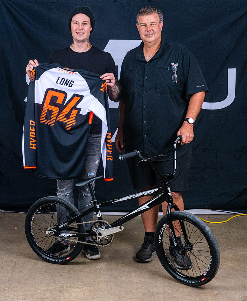 Nic and Donavon Long join Hyper Bikes for 2020