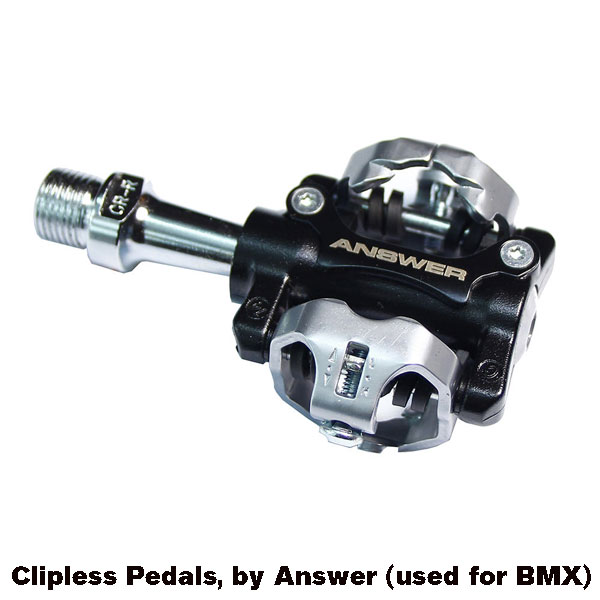 Answer Clipless Pedals