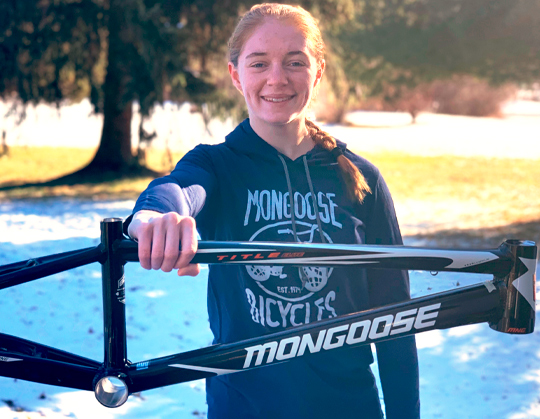 Payton Ridenour Joins Factory Mongoose for 2020
