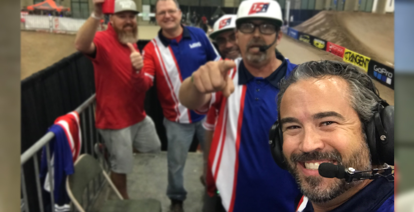 Podcast with USA BMX COO, John David with a COVID update