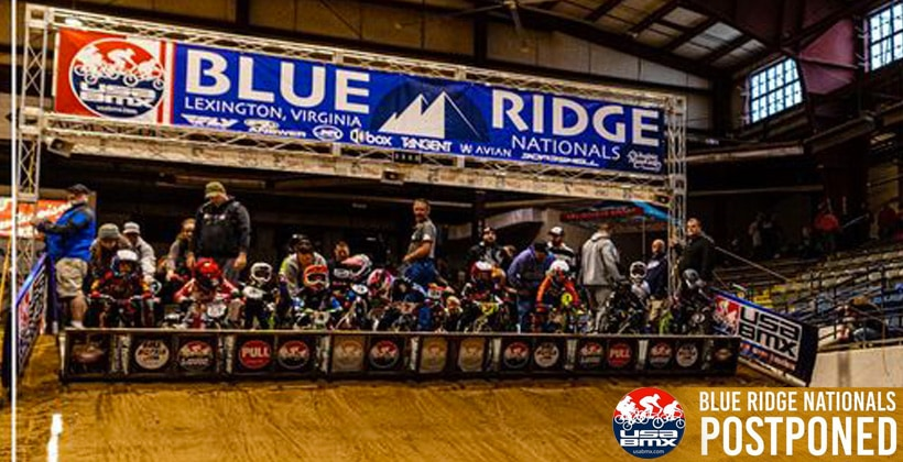 2021 USA BMX Blue Ridge Nats Canceled