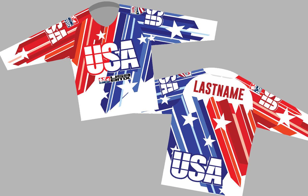 Restart! New 2019 Team USA Jersey