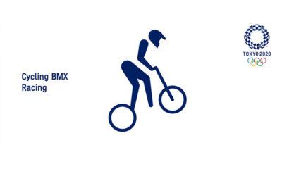 Tokyo 2020 BMX Supercross Pictogram