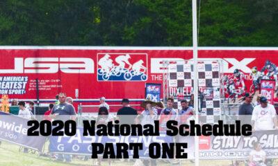 2020 USA BMX National Schedule