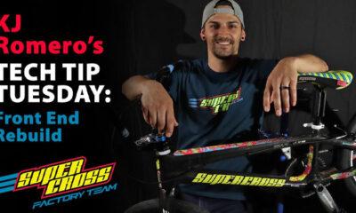 Supercross BMX launches new video series with KJ Romero