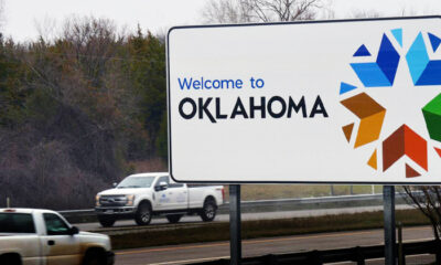 Welcome To Oklahoma Sign 2020