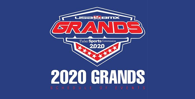 2020 USA BMX Grands Schedule Announced