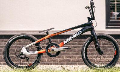 Twan van Gendt's Multi-Speed Olympic BMX Race Bike